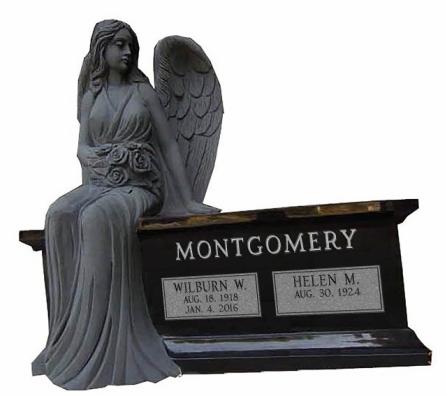 SITTING ANGEL BENCH - 157